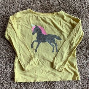 Unicorn sequined long sleeve